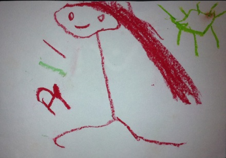 self-portrait - age 3